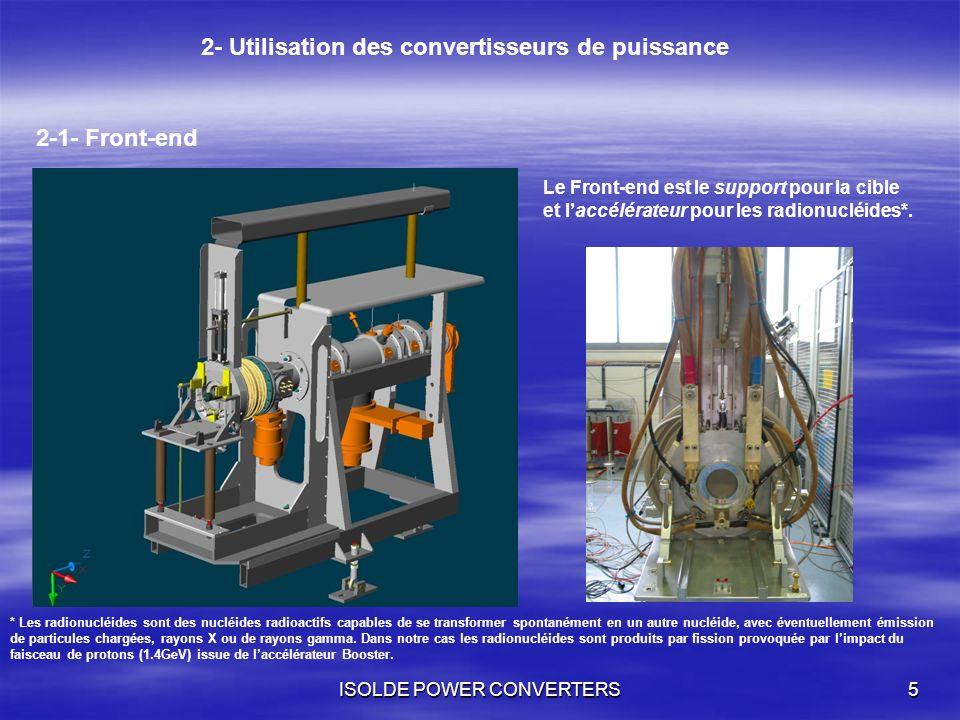 2- Utilisation des convertisseurs de puissance