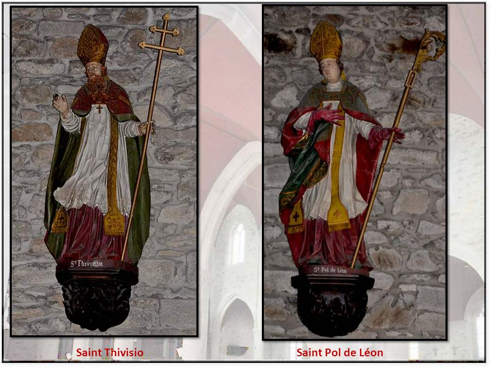 Saint Thivisio Saint Pol de Léon