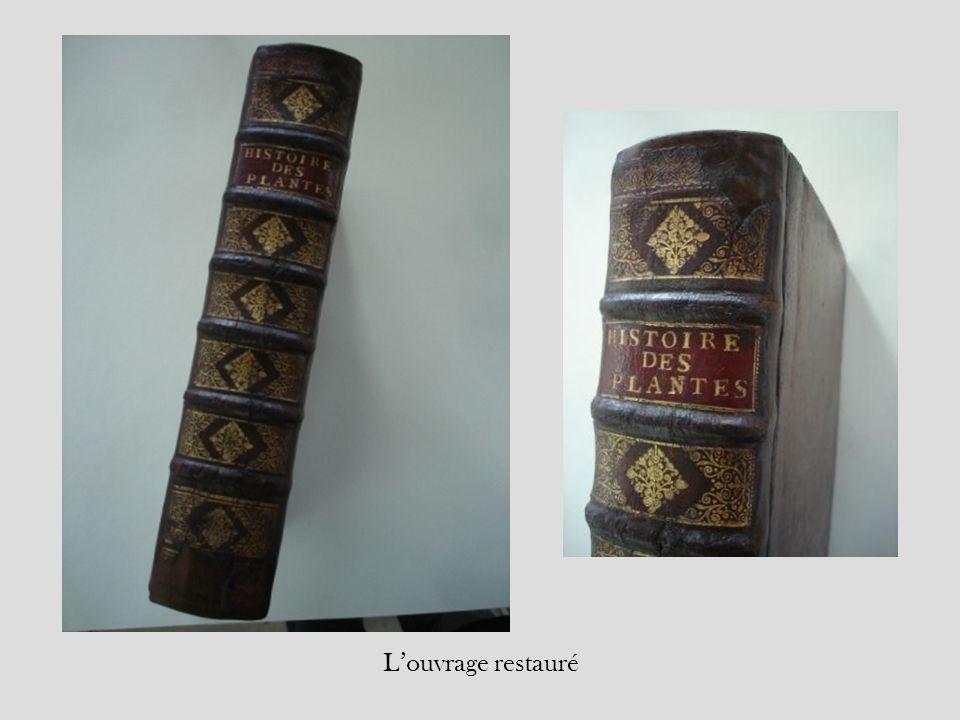 L'ouvrage restauré