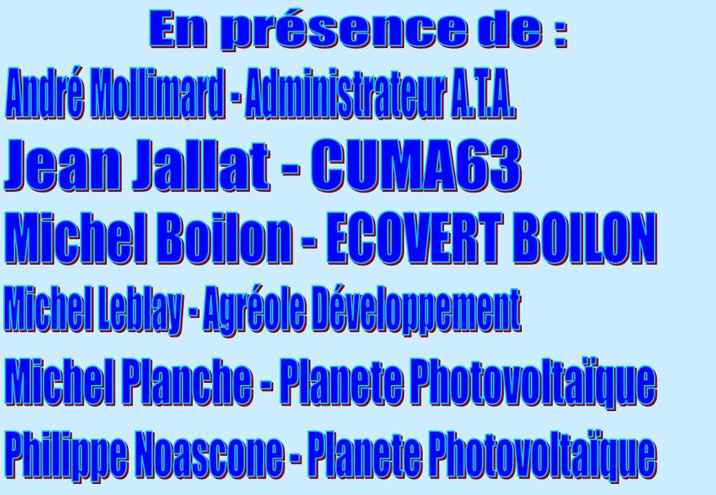 André Mollimard - Administrateur A.T.A.