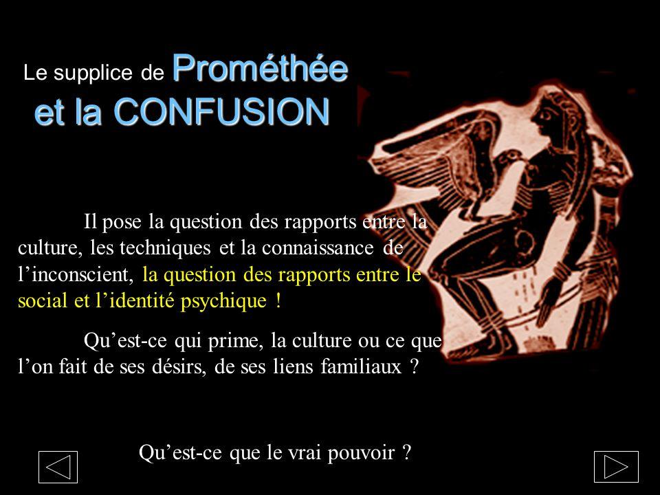 Le supplice de Prométhée et la CONFUSION