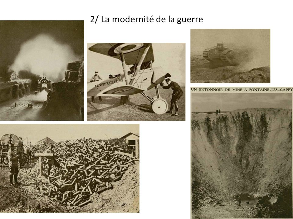 2/ La modernité de la guerre