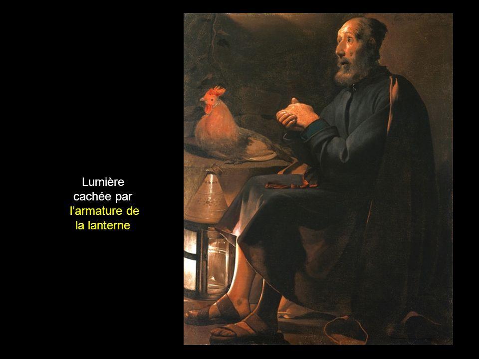l'armature de la lanterne