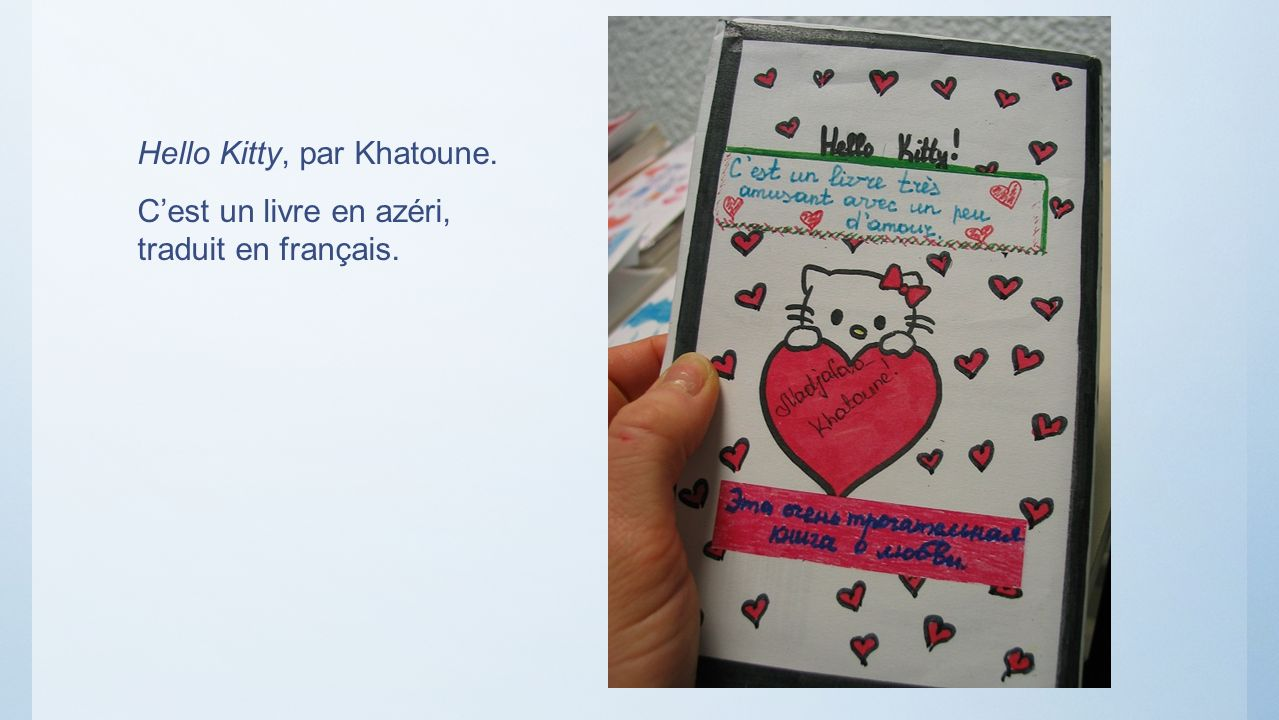 Hello Kitty, par Khatoune.