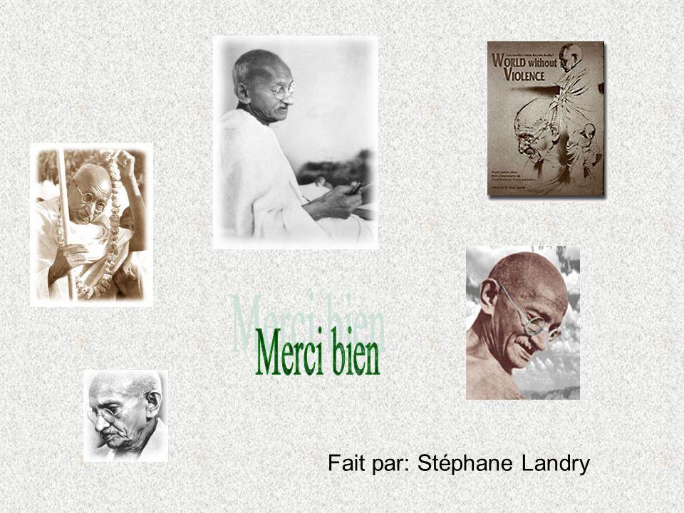 Merci bien Fait par: Stéphane Landry