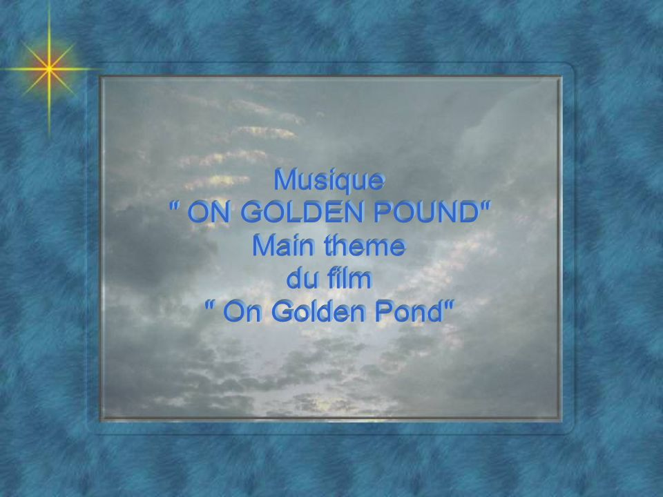 Musique ON GOLDEN POUND Main theme du film On Golden Pond