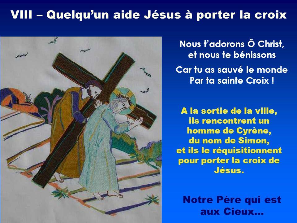 Nous t'adorons Ô Christ,