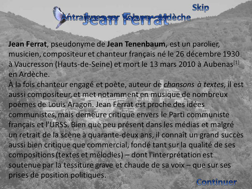 Antraigues sur Volane - Ardèche