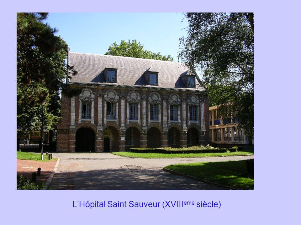 L'Hôpital Saint Sauveur (XVIIIème siècle)