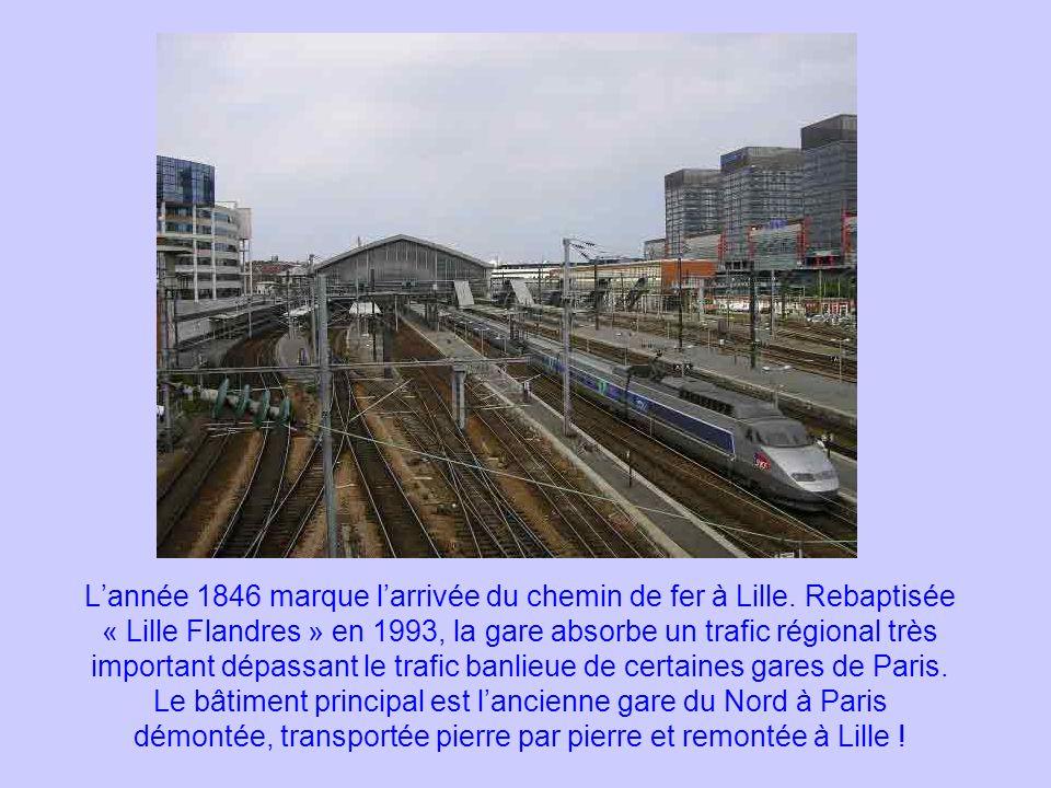 L'année 1846 marque l'arrivée du chemin de fer à Lille