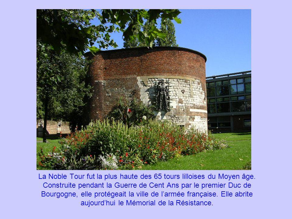 La Noble Tour fut la plus haute des 65 tours lilloises du Moyen âge