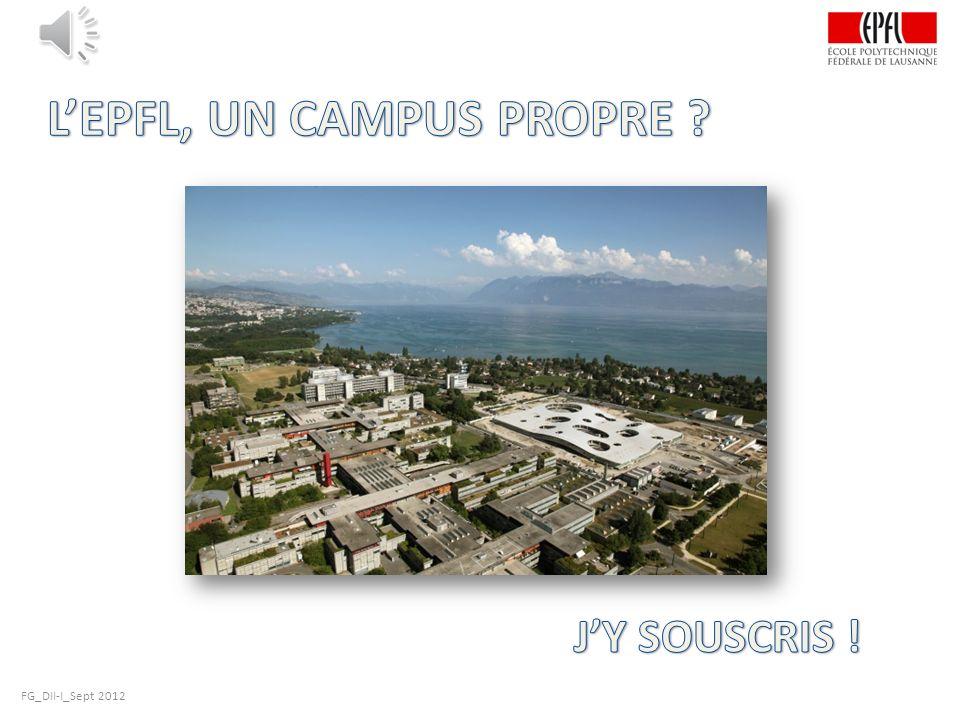 L'EPFL, UN CAMPUS PROPRE