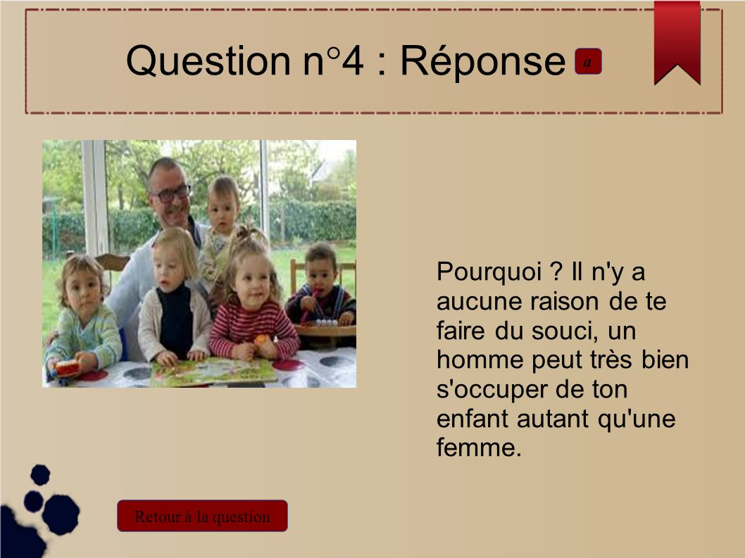 Question n°4 : Réponse a.
