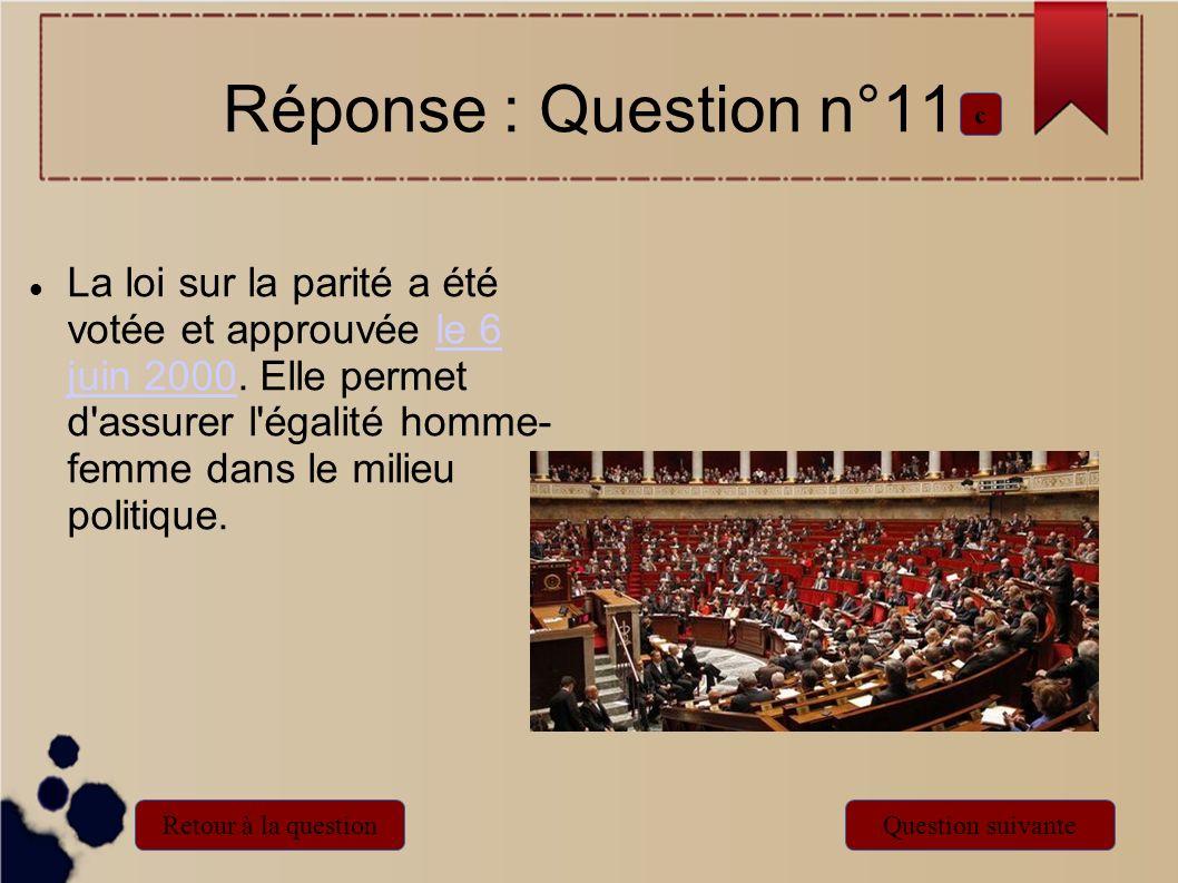 Réponse : Question n°11c.