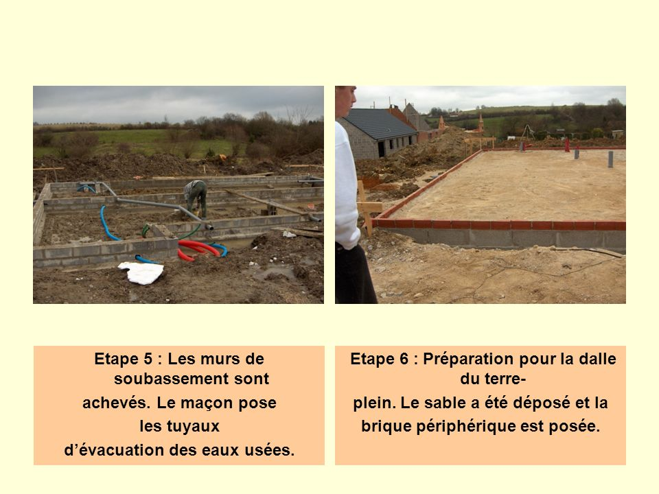 Les Diffrentes tapes De La Construction DUne Maison  Ppt Video