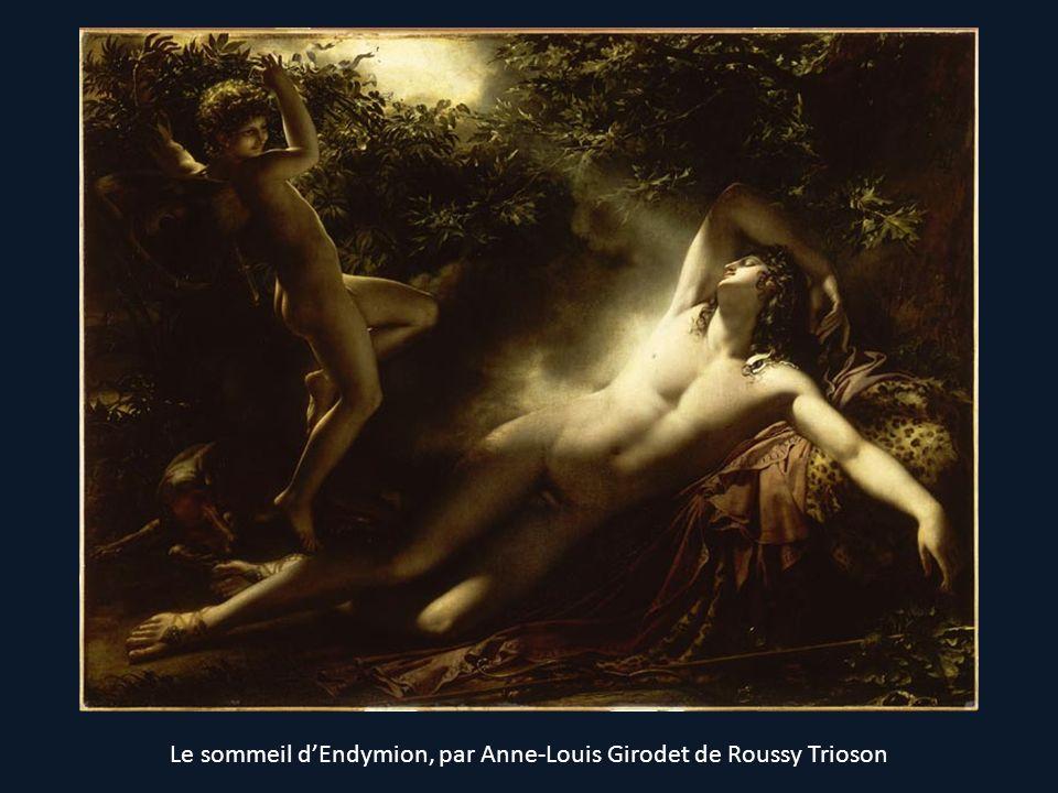 Le sommeil d'Endymion, par Anne-Louis Girodet de Roussy Trioson
