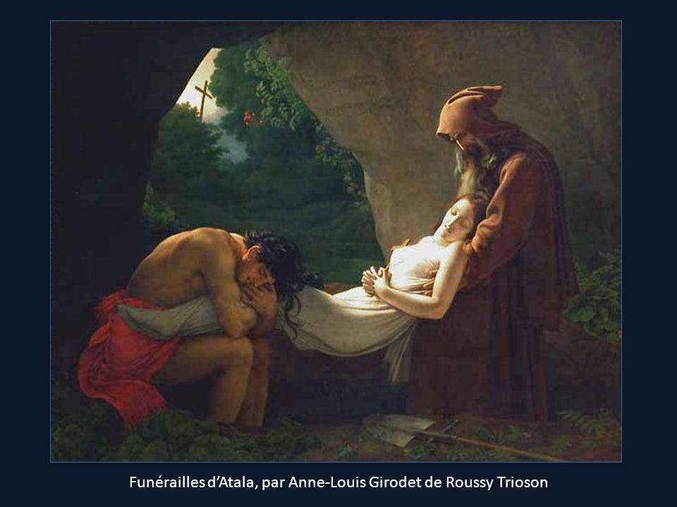 Funérailles d'Atala, par Anne-Louis Girodet de Roussy Trioson