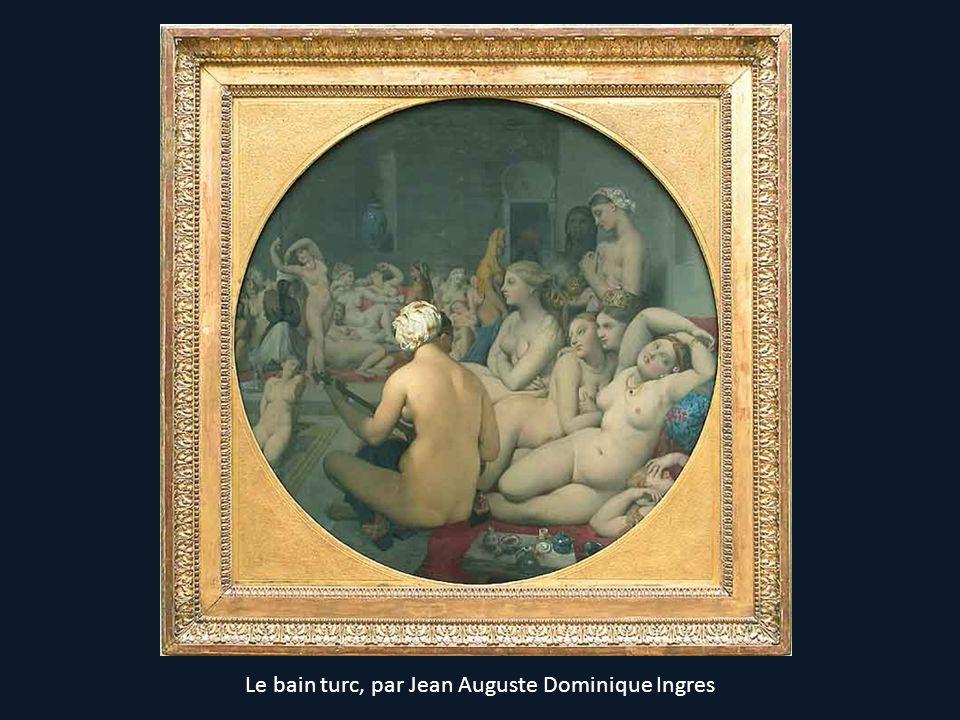 Le bain turc, par Jean Auguste Dominique Ingres