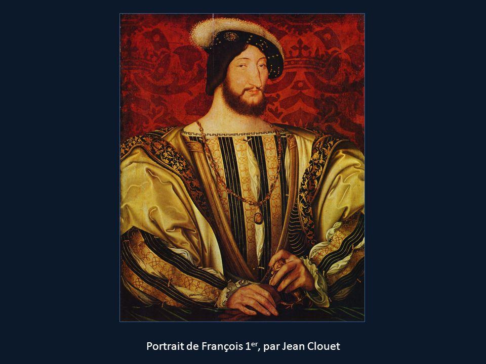 Portrait de François 1er, par Jean Clouet
