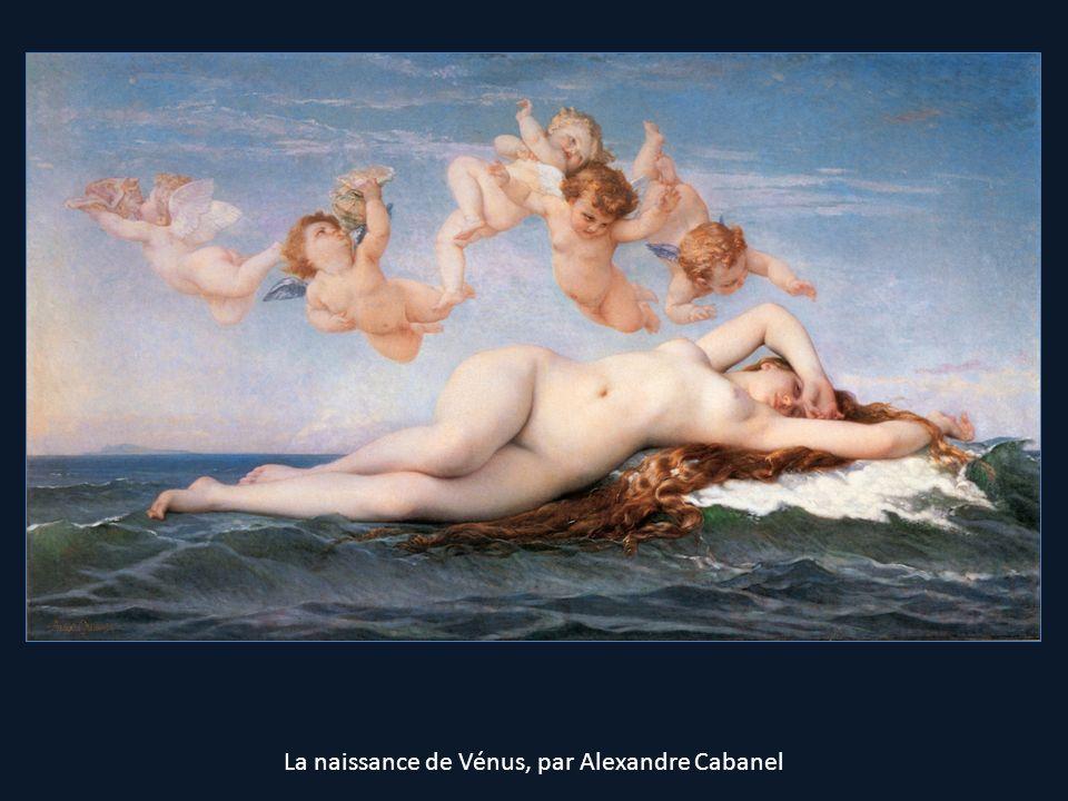 La naissance de Vénus, par Alexandre Cabanel