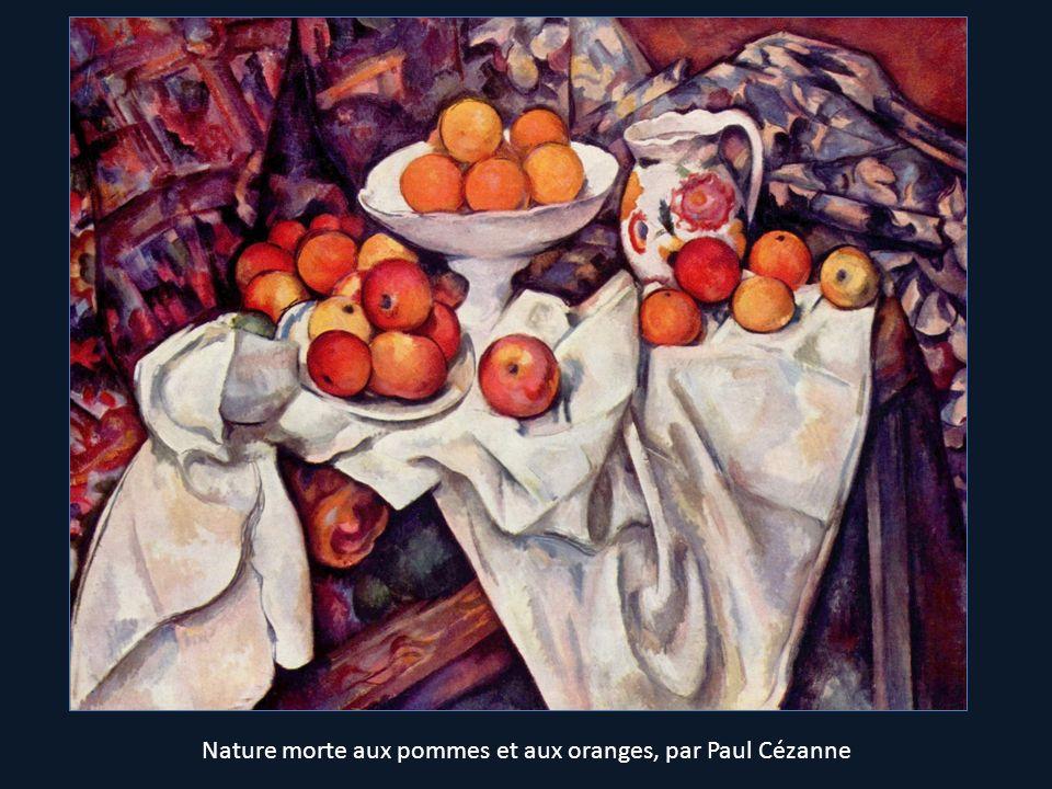 Nature morte aux pommes et aux oranges, par Paul Cézanne