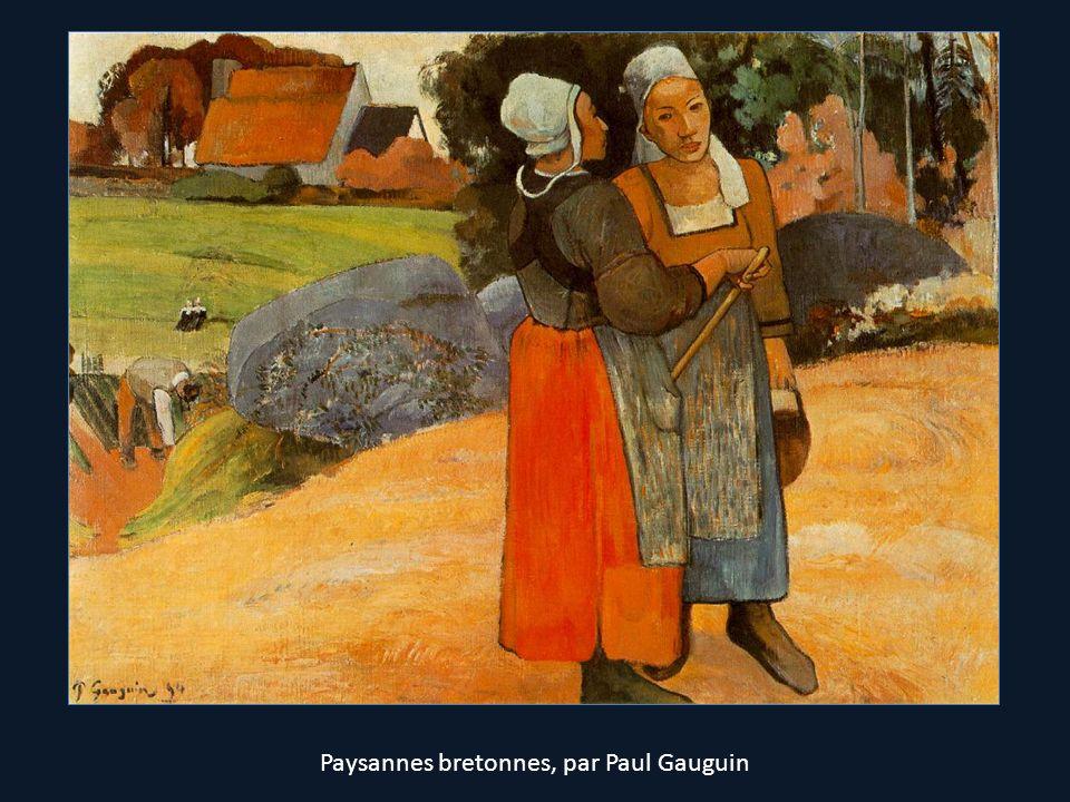 Paysannes bretonnes, par Paul Gauguin