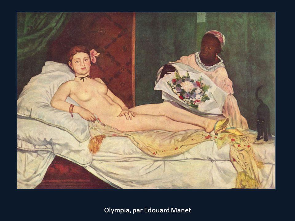 Olympia, par Edouard Manet