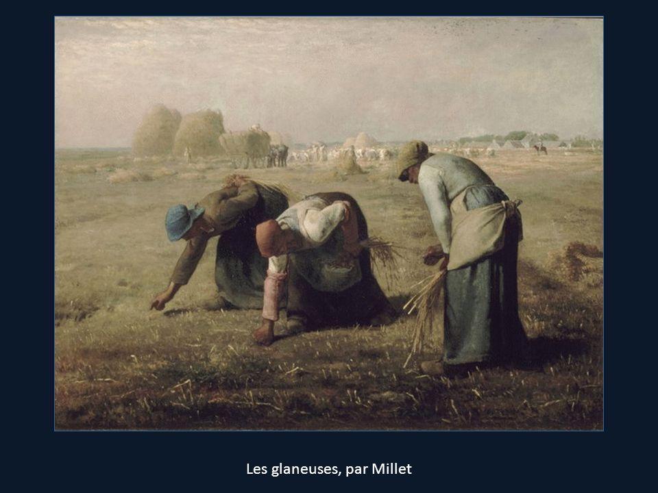 Les glaneuses, par Millet