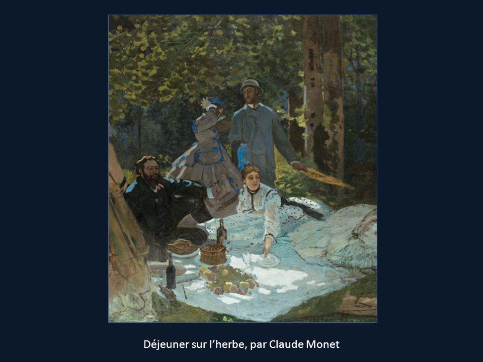 Déjeuner sur l'herbe, par Claude Monet