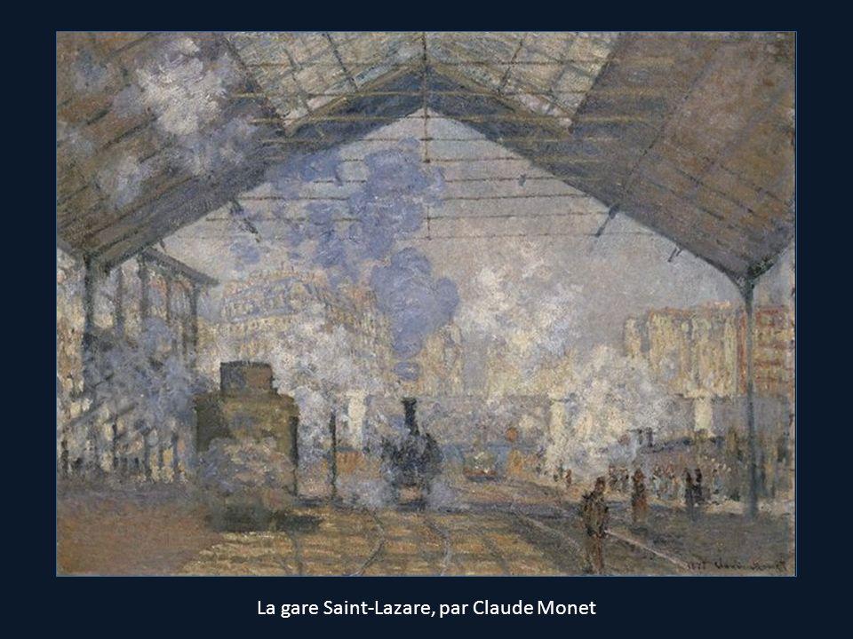 La gare Saint-Lazare, par Claude Monet
