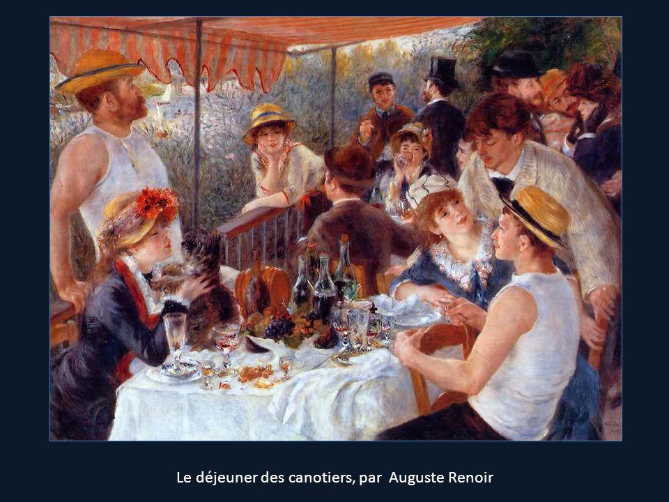 Le déjeuner des canotiers, par Auguste Renoir