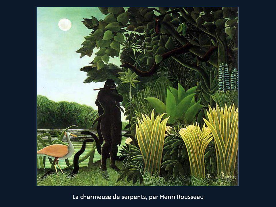 La charmeuse de serpents, par Henri Rousseau