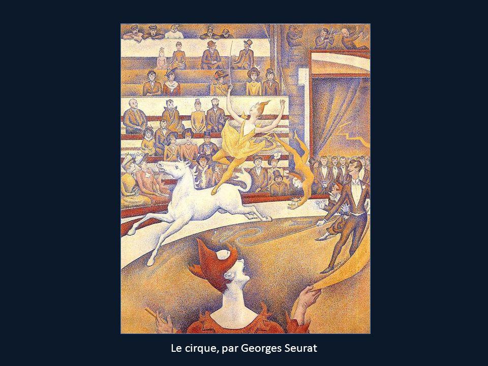 Le cirque, par Georges Seurat