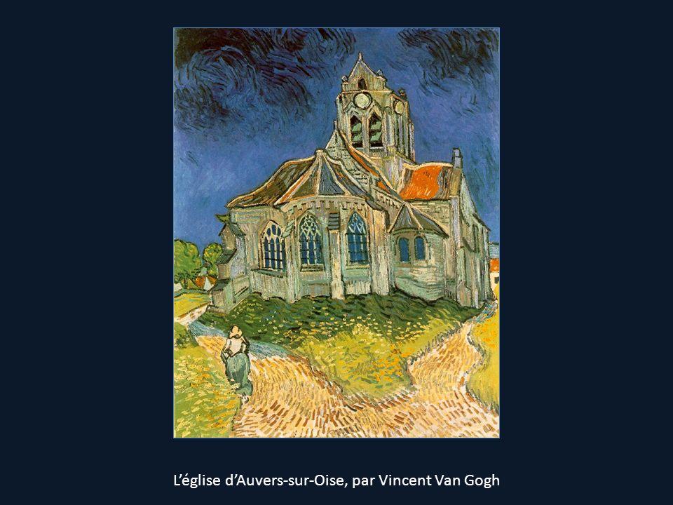 L'église d'Auvers-sur-Oise, par Vincent Van Gogh