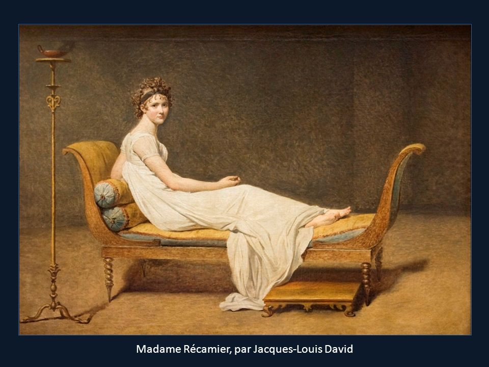 Madame Récamier, par Jacques-Louis David