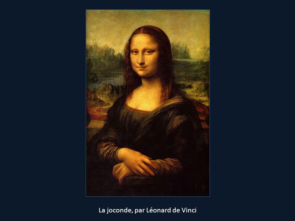 La joconde, par Léonard de Vinci