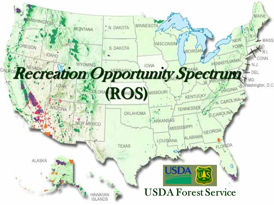 Recreation Opportunity Spectrum (ROS)