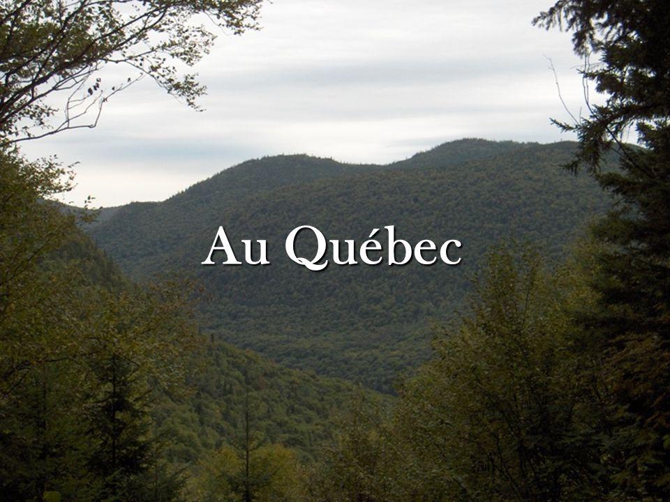 Au Québec