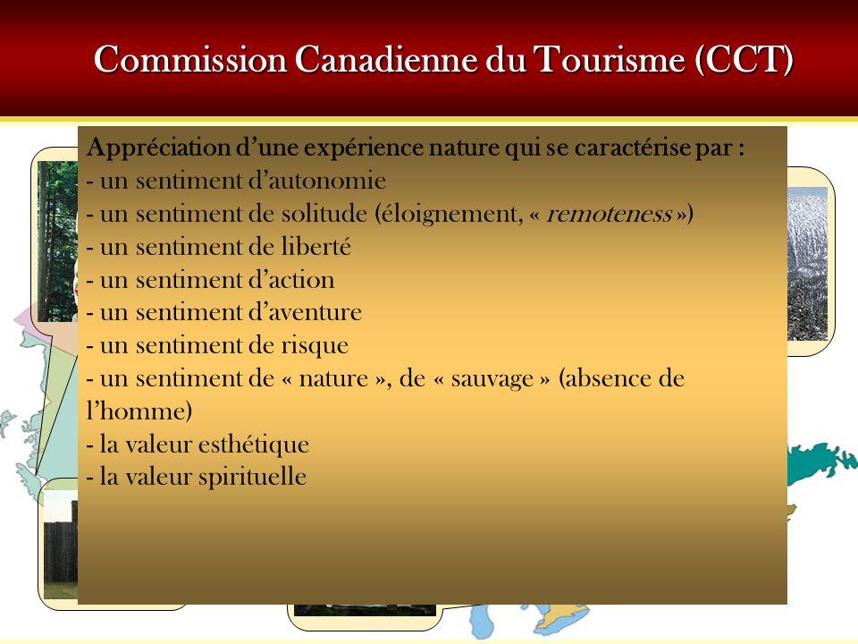 Commission Canadienne du Tourisme (CCT)