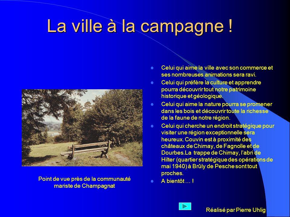 Point de vue près de la communauté mariste de Champagnat