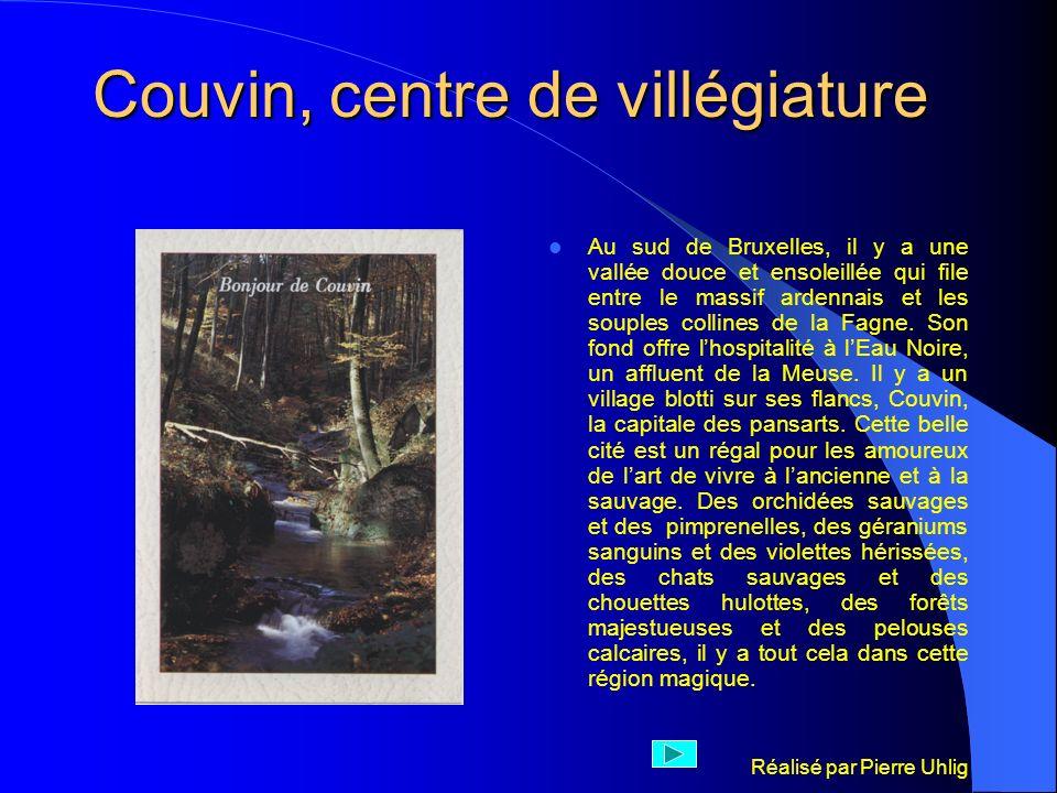 Couvin, centre de villégiature