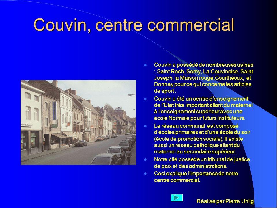 Couvin, centre commercial