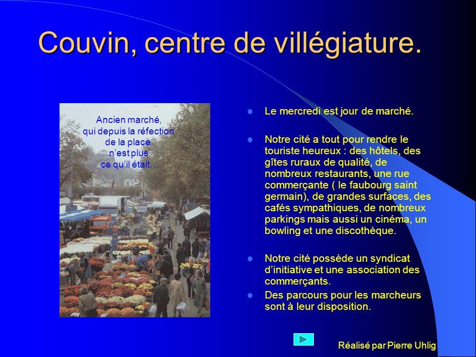 Couvin, centre de villégiature.