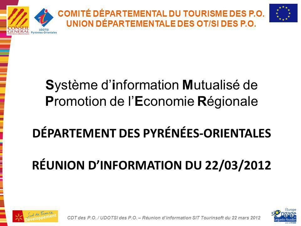 Système d'information Mutualisé de Promotion de l'Economie Régionale