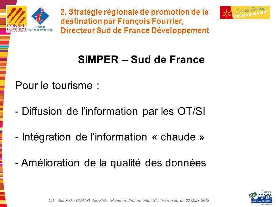 Diffusion de l'information par les OT/SI