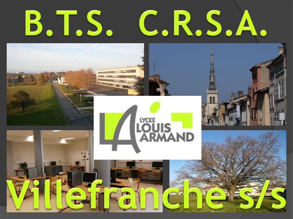 B.T.S. C.R.S.A. Villefranche s/s