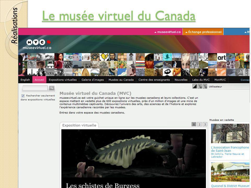 Le musée virtuel du Canada