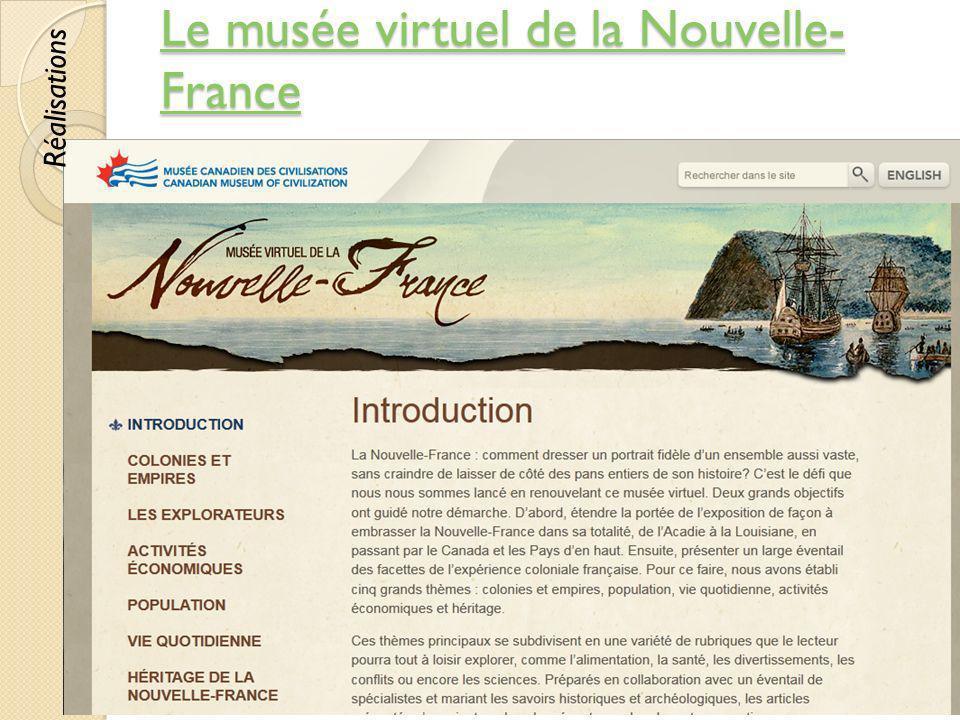 Le musée virtuel de la Nouvelle-France