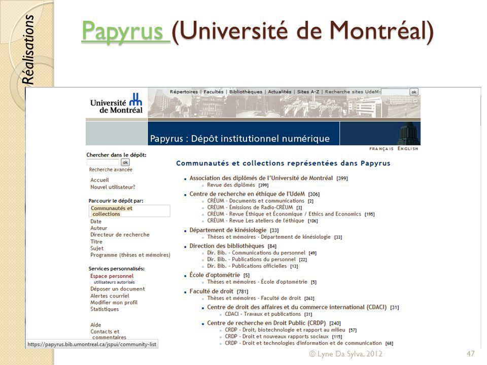 Papyrus (Université de Montréal)