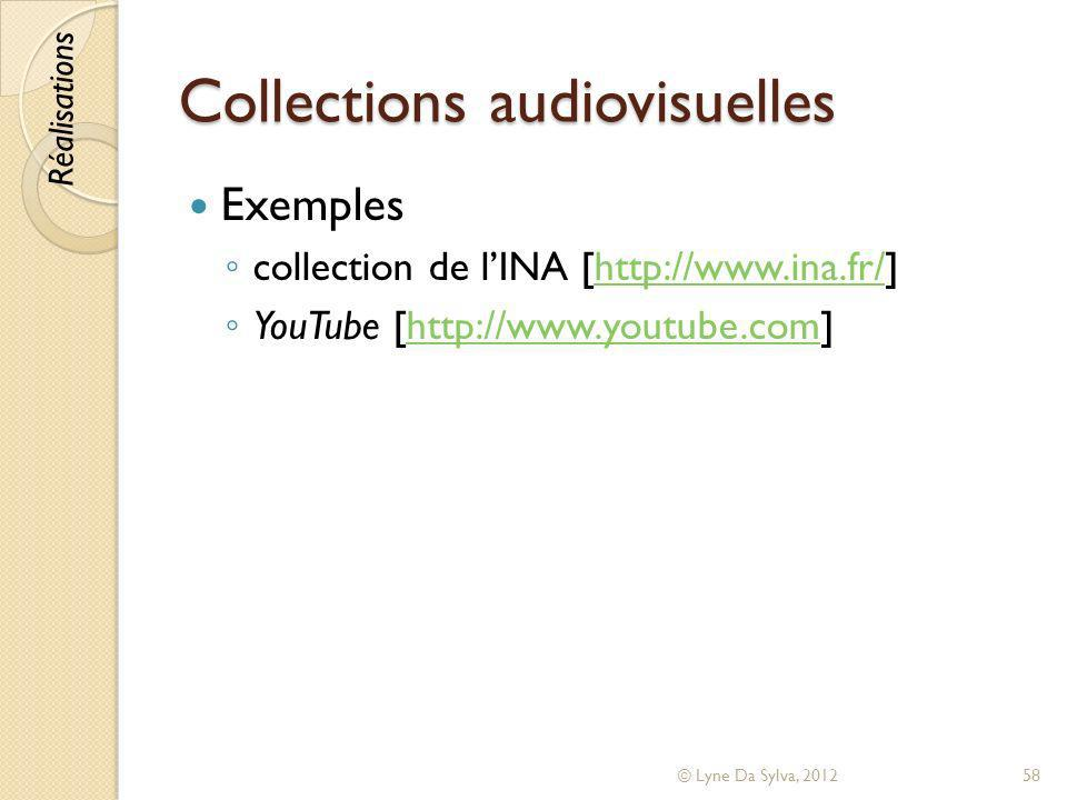 Collections audiovisuelles